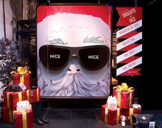G by GUESS Holiday Window Display - Naughty or Nice (A.R.E. - Association for Retail Environments Winner) ⭐️