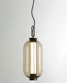New from Neri&Hu for Parachilna: Bai Ba Ba suspension light. A modern Chinese lantern made of blown glass and LED technology