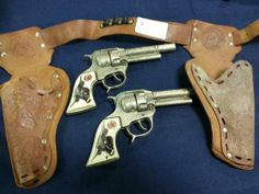Toy Western Gun Set
