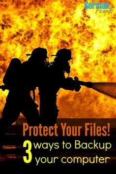 Computer Backup - You never know when disaster will strike....protect your pictures, music and files. Here are three different techniques for backing up your tech life.