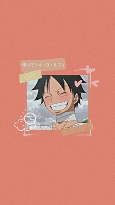 Smile Wallpaper, One Piece Drawing, Monkey D Luffy, Aesthetic Wallpapers, Anime, Husband, Drawings, Cute, Pictures