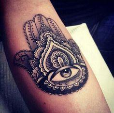 mano fatima tattoo - Buscar con Google