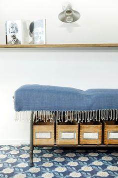Motif Camélia, design Mini labo - photo Virginie Perocheau