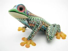 polymer clay frogs | Fimo Creations Polymer Clay Baby Tree Frog by Jon Anderson | Lemas ...