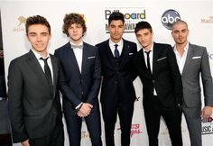 The Wanted at Billboard awards 2012