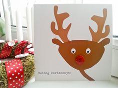 Christmas - Decoration postcard Xmas red and white buttons Red And White, Christmas Decorations, Xmas, Buttons, Create, Home Decor, Decoration Home, Room Decor, Christmas