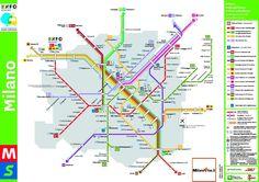 mappa metro milano