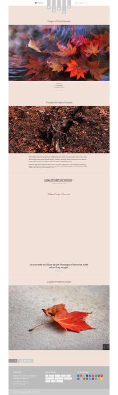 Haiku, WordPress Responsive Portfolio Blogging Theme