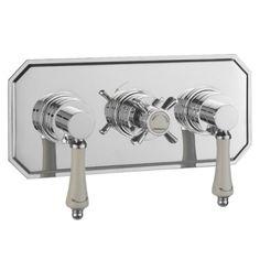 Bensham horizontal thermostatic shower bath valve