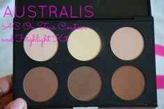 australis ac on tour contour and highlight kit review
