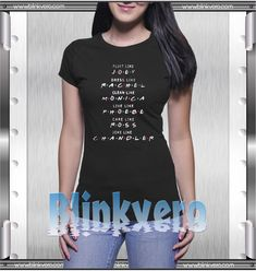 The Friends Names Style Shirts For Womens Size S-3XL Unisex Shirt //Price: $10 & FREE Shipping //     #shirts