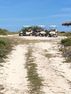 Drive your Club Car to the beach   http://www.homeaway.com/vacation-rental/p3603836