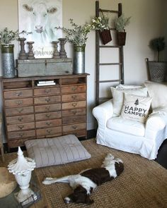 Boy oh boy look at this living space from Brooke @brookels12!  I've been looking for inspiration for my new house and I am so drawn to this beautiful farmhouse style. I love the browns and neutrals and this photo confirms that I need a white slipcover for my Ektorp sofa!  Go and check out all of Brooke's photos and follow her!  You'll love her as much as I do! #sundayhomeinspo #onetofollow #amazinghouse #decorate #decoratingideas #farmhousestyle #farmhouse