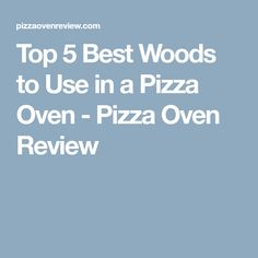 What's the Best Wood to use for a Pizza Oven? After hours of research and testing, we've narrowed it down to our five best options! Fire Food, Wood Fired Oven, Woods, Tips, Recipes, Pizza Ovens, Street, Bricks, Outdoors