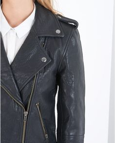 Black Buff Leather Jacket #ARWishlist @atterleyroad