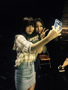 Yuju and Sowon on Star Dust
