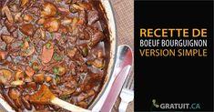 Une recette comme on les aime -elle se prépare rapidement et nécessite peu d'ingrédients ! Et, on peut aussi la faire à la mijoteuse . Ingr&eacut