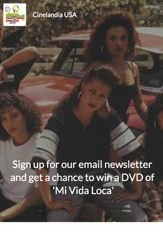 WIN A DVD of 'MI VIDA LOCA'   STEP # 1: Sign up for our monthly email newsletter. http://www.cinelandiausa.com/newsletter-sign-up/  STEP # 2: Sign up for the giveaway. https://giveaway.amazon.com/p/05c25b407d0f0967  Sit back and cross your fingers. You'll get a list of Latino movies playing across the country in your inbox every month.  *Offer Expires: January 18, 2016 at 11:59pm PT  #chola #MiVidaLoca #movies