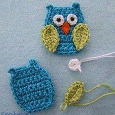 #crochet #crocheting #owl #crochetaddict