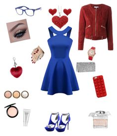 """""""Beautiful in Blue!!"""" by troyer-ba on Polyvore featuring Chicnova Fashion, Qupid, MAC Cosmetics, Shiseido, Chloé, By Terry, IRO, Marc Jacobs, Ray-Ban and bürgi"""