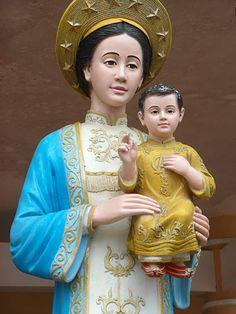 Statue of Mary, La Vang, Vietnam