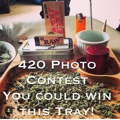 Lots of trays to giveaway this April.! Celebrate 420. Follow the link in our bio. Submit a photo. Vote for your favourites. Get your friends to vote for your photo.! Win a Dr. J's Rolling Tray. Submission deadline April 21st. Voting ends April 29th. Enter now at www.ROLLINGTRAYS.com enjoy 420 #contest #rollingtray #drjsrollingtrays #420photocontest #420 #photocontest #prizes #photography