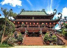 Minh Thanh Temple, Pleiku, Vietnam.