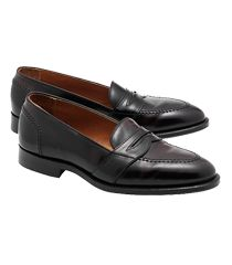 Suitup!-Cordovan leather loafers by Brooks Brothers, featured at www.thefanzynet.com