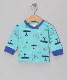 Take a look at this Blue Sky Pilot Organic Tee - Infant on zulily today!