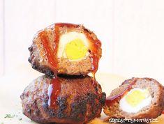 Rezepte mit Herz   ♥: BBQ Frikadellen gefüllt