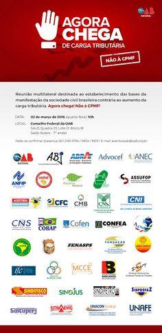 Folha do Sul - Blog do Paulão no ar desde 15/4/2012: OAB: NÃO À CPMF