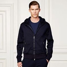 Interlock Hooded Jacket - Purple Label Sweatshirts - RalphLauren.com