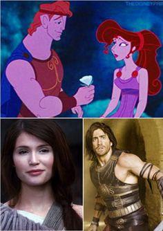 Celebrity match up - Hercules