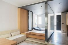 The Folding Apartment in Shanghai: a miracle in a box.  http://vurni.com/folding-apartment-shanghai/