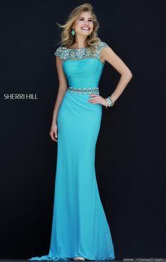 modelos vestido longo azul claro - Google Search