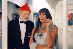 Bill Murray and Anjelica Huston