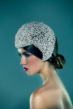 White Pearl Headpiece