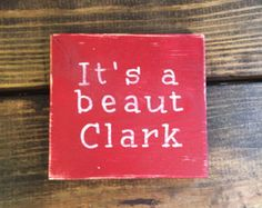 Check out our christmas vacation selection for the very best in unique or custom, handmade pieces from our shops. Christmas Wooden Signs, Farmhouse Christmas Decor, Christmas Art, Winter Christmas, Christmas Decorations, Christmas 2019, Family Christmas, Christmas Ideas, Christmas Vacation Movie