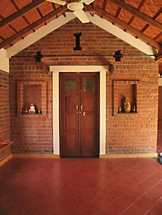 New Farmhouse Exterior Brick Home Plans Ideas House Architecture Styles, Vernacular Architecture, Brick Architecture, Exterior Wall Tiles, Exterior House Colors, Kerala House Design, Traditional House Plans, Kerala Traditional House, Farmhouse Style Kitchen