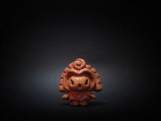 木彫り土偶 12号
