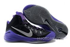 buy popular e1f43 c8177 Nike Lunar Hyperdunk 2014 Black Purple Grey, Price   65.00 - Air Jordan  Shoes, Michael Jordan Shoes