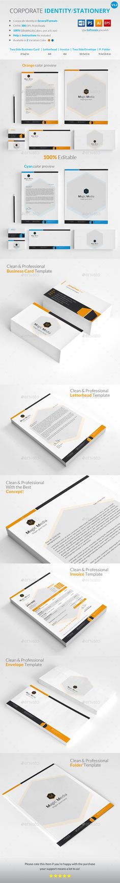 corporate identity template psd corporate identity templates
