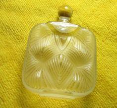 Lalique France Signed Flacon Hittite Perfume Bottle w Stopper RARE Mint | eBay