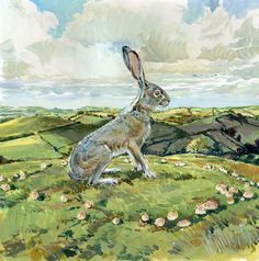 the hare by Claire Fletcher