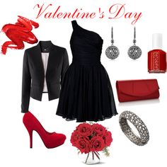 **** Valentine's Day outfit ****