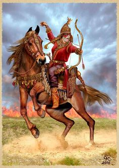 Scythian woman warrior
