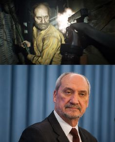 Jack from Resident Evil 7 looks like a polish Minister of National Defence - 9GAG