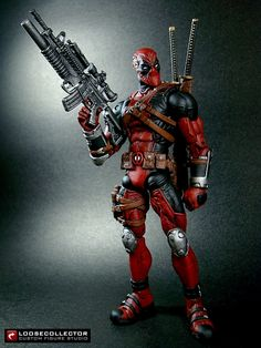 Loosecollector Custom Action Figures Official Website: Deadpool : Olivetti style