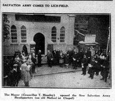 Salvation Army - Methodist Church - Wade street 1935