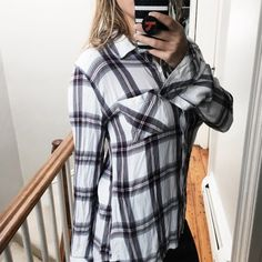 Stitch Fix 2017 Rails Plaid Shirt, Ellson One Pocket Top